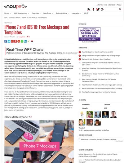図5 iPhone7とiOS 10のモックアップ素材いろいろ