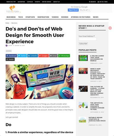図1 円滑なユーザー体験のためにやるべきこと,やってはいけないこと