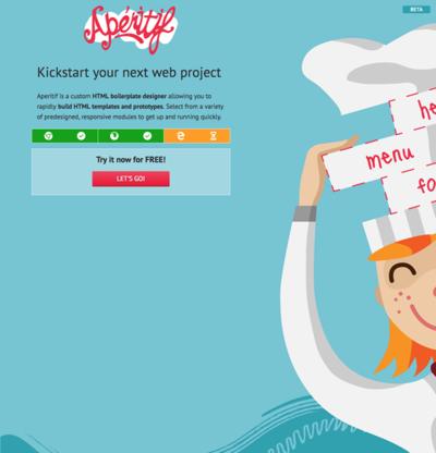図6 レスポンシブなウェブページのテンプレートが簡単に作れるサービス