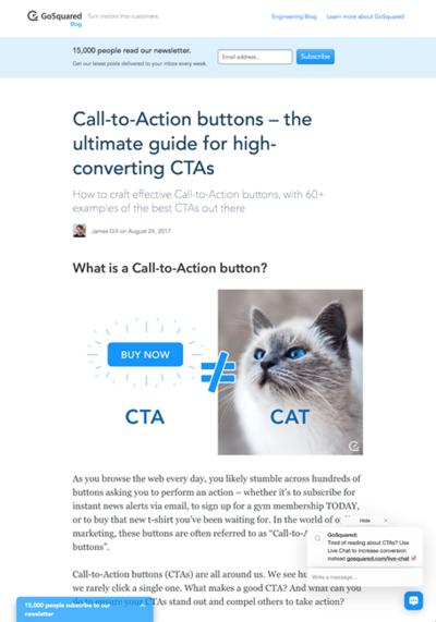 図1 コールトゥアクションボタンが高い効果を得るための完全ガイド