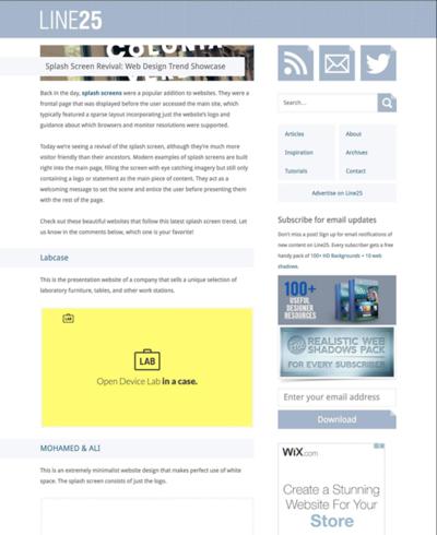 図3 スプラッシュスクリーンの復活とその事例