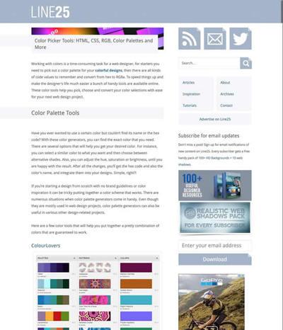 図5 色を選ぶためのオンラインツールのまとめ