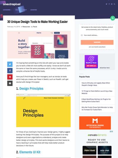 図3 ウェブデザイン役立つツール30種類