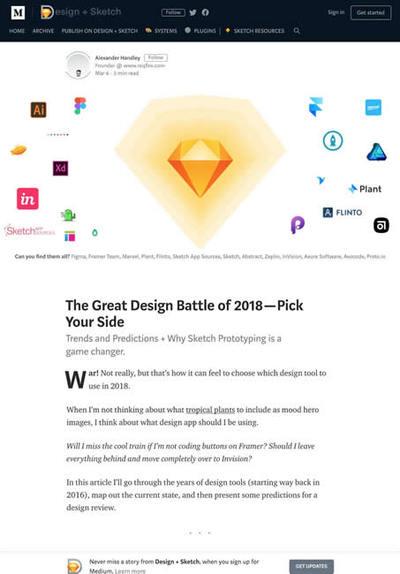 図2 ウェブデザインツールの最近の動向と今後の予想