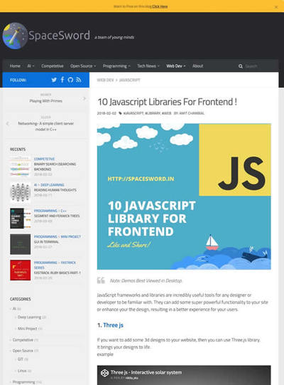 図4 フロントエンドのためのJavaScriptライブラリ