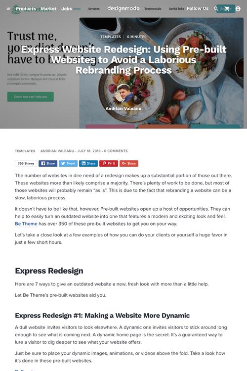 2018年7月第4週号 1位は ウェブサイトを素早くデザインリニューアルする