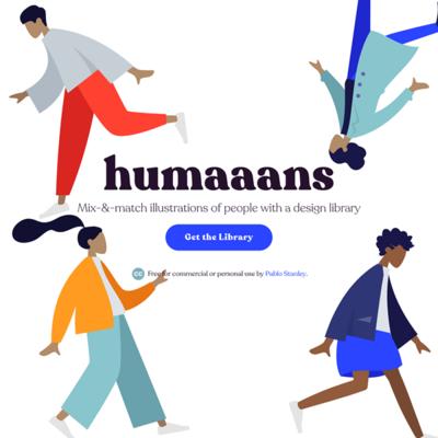 図6 人物イラストを簡単に作れるライブラリ