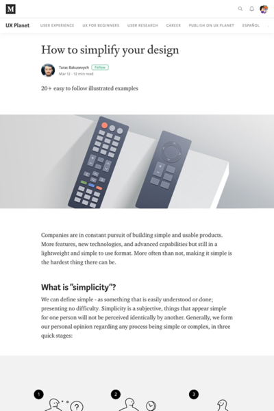 図1 デザインを単純にする方法
