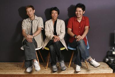阿部淳也さん(左),森田雄さん(中央),長谷川敦士さん(右)