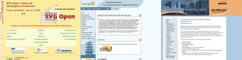 歴代SVG OpenのWebサイト