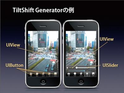 TiltShift Generatorの例