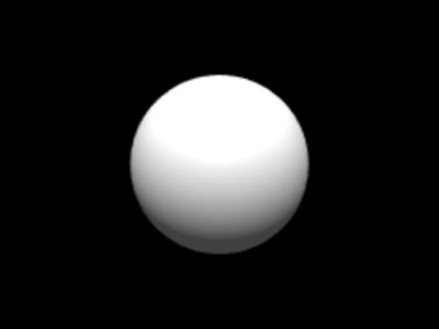 図2 テクスチャが貼り損なわれた球体