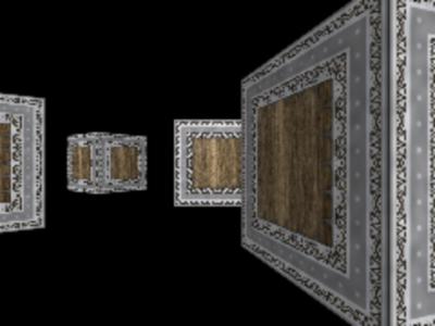 図7 真ん中の箱を中心とした円周上に複数の箱が置かれた