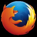 図2 Firefoxロゴの画像ファイル