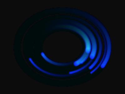 第25回図3 楕円軌道の残像に重なるインスタンスが明るさを増す(再掲)
