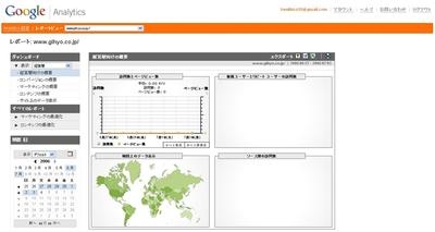 図 Googleが開始したアクセス分析サービス「Google Analytics」