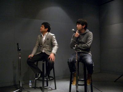 渡辺潤平さんと戸練直木さん
