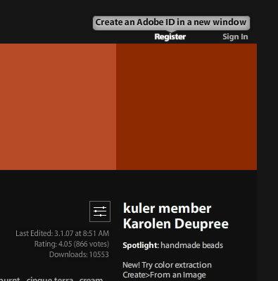 図2 Adobe のID取得ページ(英語サイト)