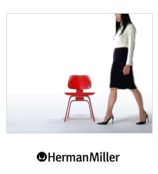 """Herman Miller """"GET REAL""""(ゲットリアル)キャンペーン バナー広告「類似品にご注意を-虫眼鏡」篇"""
