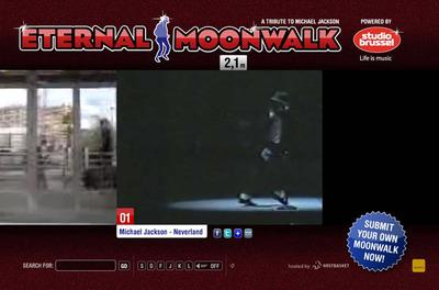 図1 Michael Jacksonのムーンウォーク動画からスタート