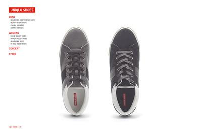 図4 販売される靴が次々に紹介されていく