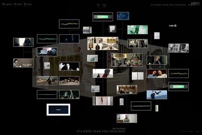図2 物語に関連する情報が提供される