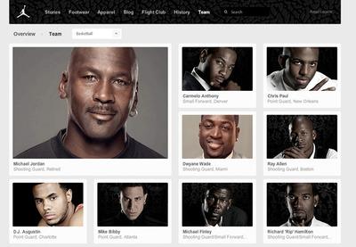 図3 「Jordan Brand」も多くの選手と契約している