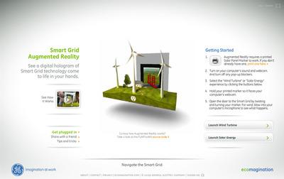 図2 GEによるスマートグリッド技術のプロモーションサイト