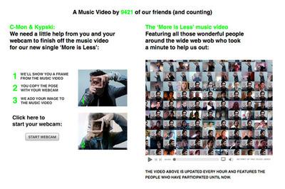 図1 ユーザーにミュージックビデオ制作の手助けを求めている