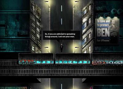 図2 ウェブサイトでは建物の高低差や電車の動きなども表現