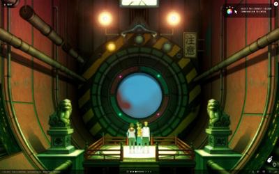 図2 アニメーション内では,ウェブカメラやマウスを使うシーンもある