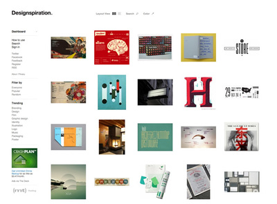図4 『Designspiration』