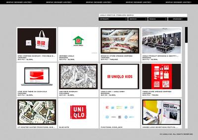 図4 UNIQLOのクリエイティブをまとめた『UNIQLO CREATIVE』