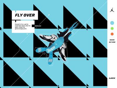 図1 「Air Jordan」シリーズの最新作となる「Air Jordan 2012」のウェブサイト