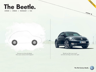 図1 「The Beetle」を紹介する『See the new Beetle!』