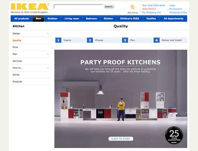図3 25年保証のキッチンシステムを紹介する『Kitchen Quality Guarantee』