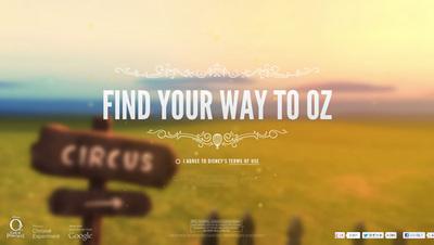 図6 映画の世界を表現した『Find Your Way to Oz』