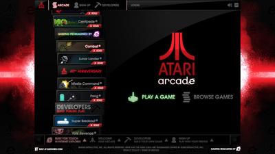図3 「Internet Explorer 10」のプロモーションとして公開された『Atari Arcade』