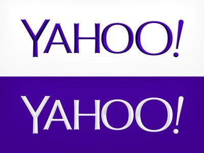 図3 最終日に公開された,新しいYahoo!のロゴ