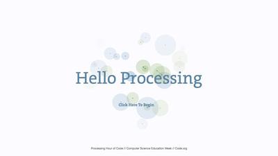 図1 「Processing」を初歩から解説している『Processing Hour of Code』