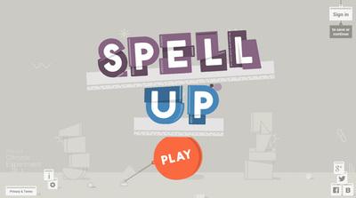図4 ブラウザの音声認識を利用したゲーム,『Spell Up』