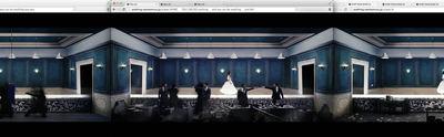 図2 横に並べたウインドウの中で,ミュージックビデオが再生される