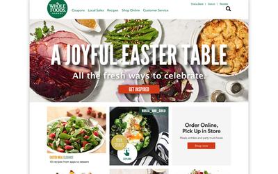図1 Whole Foods Marketは,全米に約400店舗を展開するオーガニック系の高級スーパーチェーン。Amazonは,このスーパーを137億ドル(約1兆5000億円)で買収した
