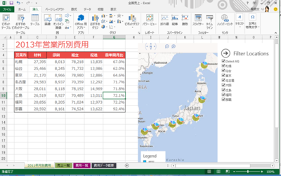 Office 2013のExcel