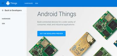 図3 Android Things