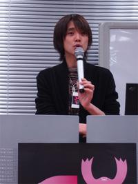 ニッポン放送アナウンサーの吉田氏。独自のランキングやアプリを作成するなど,アプリを推進