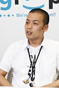 児玉映治氏 ソーシャルゲーム事業本部 UI/UXグループ(アプリケーション開発部に所属していたエンジニア)