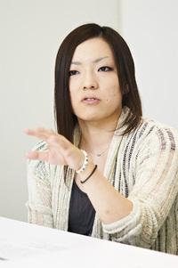 丸山麗氏 ソーシャルゲーム事業本部 UI/UXグループ(デザイン制作部に所属していたデザイナ)