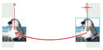 図4 ステージからはみ出すピクセル数はインスタンスによって変わる