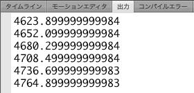図2 DisplayObject.rotationYプロパティの値の範囲に制限がない